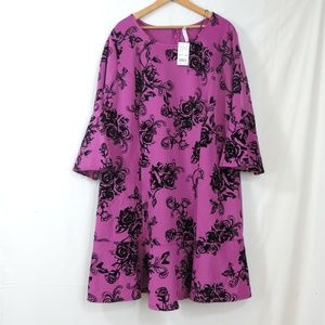 Ny collection magvi women plus dress petite